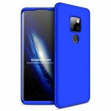 """Dviejų Dalių Plastikinis Dėklas Apsaugantis Priekį Ir Galą """"Gkk 360"""" Huawei Mate 20 Mėlynas"""