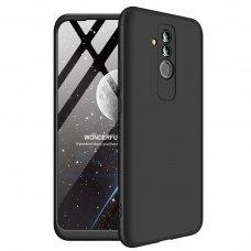 """Dviejų Dalių Plastikins Dėklas Apsaugantis Priekį Ir Galą """"Gkk 360"""" Huawei Mate 20 Lite Juodas"""