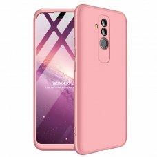 """Dviejų Dalių Plastikins Dėklas Apsaugantis Priekį Ir Galą """"Gkk 360"""" Huawei Mate 20 Lite Rožinis"""