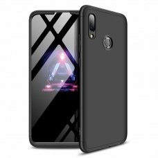 """Dviejų Dalių Plastikinis Dėklas Apsaugantis Priekį Ir Galą """"Gkk 360"""" Huawei P Smart 2019 Juodas"""