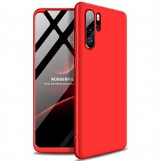 """Dviejų Dalių Plastikinis Dėklas Apsaugantis Priekį Ir Galą """"Gkk 360"""" Huawei P30 Pro Raudonas"""