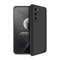 Gkk 360 Dviejų Dalių Apsauginis Dėklas Huawei P40 Juodas