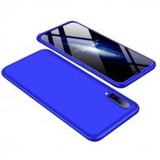 """Dviejų Dalių Plastikinis Dėklas Apsaugantis Priekį Ir Galą """"Gkk 360"""" Samsung Galaxy A50 Mėlynas"""