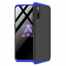 """Dviejų Dalių Plastikinis Dėklas Apsaugantis Priekį Ir Galą """"Gkk 360"""" Xiaomi Mi 9 Juodas-Mėlynas"""