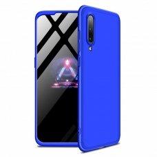 """Dviejų Dalių Plastikinis Dėklas Apsaugantis Priekį Ir Galą """"Gkk 360"""" Xiaomi Mi 9 Mėlynas"""