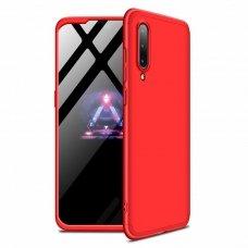 """Dviejų Dalių Plastikinis Dėklas Apsaugantis Priekį Ir Galą """"Gkk 360"""" Xiaomi Mi 9 Raudonas"""