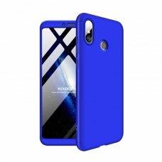 """Dviejų Dalių Plastikins Dėklas Apsaugantis Priekį Ir Galą """"Gkk 360"""" Xiaomi Mi Max 3 Mėlynas"""