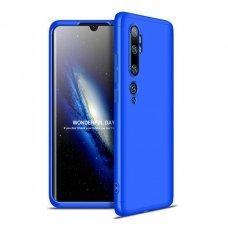"Dvipusis plastikinis dėklas ""GKK 360 Protection"" Xiaomi Mi Note 10 / Mi Note 10 Pro / Mi CC9 Pro mėlynas (goe85) UCS103"