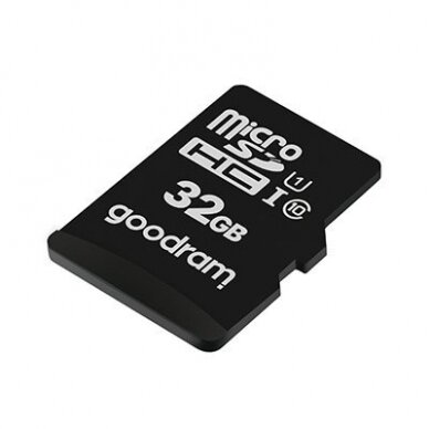 Goodram Microcard 32 GB micro SD HC UHS-I class 10 memory card, SD adapter (M1AA-0320R12) 3
