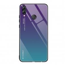 """Grūdinto stiklo dėklas nugarėlė """"Gradient Glass Durable"""" Huawei P20 Lite žalias-violetinis (sny76)"""