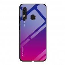 """Grūdinto stiklo dėklas nugarėlė """"Gradient Glass Durable"""" Huawei P30 Lite rožinis-violetinis (ijg49) UCS072"""