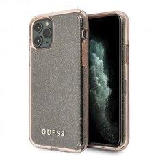 Originalus Guess Dėklas Guhcn58Pcglpi Iphone 11 Pro Rožinis Hard Case Glitter