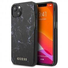 """Originalus Guess dėklas GUHCP13SPCUMABK iPhone 13 mini 5,4"""" Juodas Marble"""