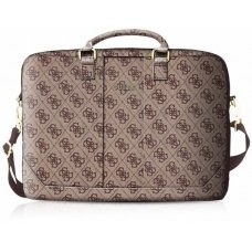 "GUESS TORBA GUCB154GB 15"" BRĄZ/BROWN 4G UPTOWN"