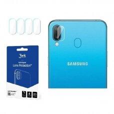 "Hibridinis Apsauginis Stiklas Objektyvui ""3Mk Flexi Lens"" Samsung A405 A40  4 Vnt."