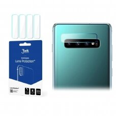 "Hibridinis Apsauginis Stiklas Objektyvui ""3Mk Flexi Lens"" Samsung G973 S10  4 Vnt."