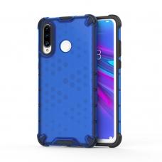 """Apsauginis Tpu Dėklas """"Honeycomb Case"""" Huawei P30 Lite Mėlynas"""