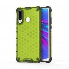 """Apsauginis Tpu Dėklas """"Honeycomb Case"""" Huawei P30 Lite Žalias"""