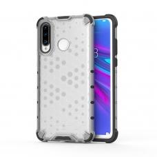 """Apsauginis Tpu Dėklas """"Honeycomb Case"""" Huawei P30 Lite Permatomas"""