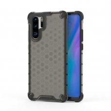 """Apsauginis Tpu Dėklas """"Honeycomb Case"""" Huawei P30 Pro Juodas"""