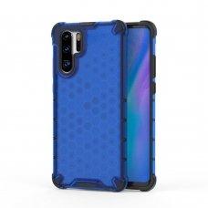 """Apsauginis Tpu Dėklas """"Honeycomb Case"""" Huawei P30 Pro Mėlynas"""