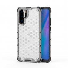 """Apsauginis Tpu Dėklas """"Honeycomb Case"""" Huawei P30 Pro Permatomas"""