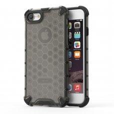 "Apsauginis Tpu Dėklas ""Honeycomb Case"" Iphone 7/ Iphone 8/ Iphone Se 2020 Juodas"