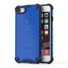 """APSAUGINIS TPU DĖKLAS """"HONEYCOMB CASE"""" IPHONE 7/ IPHONE 8/ IPHONE SE 2020 MĖLYNAS DY77"""