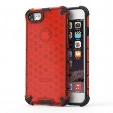 "Apsauginis Tpu Dėklas ""Honeycomb Case"" Iphone 7/ Iphone 8/ Iphone Se 2020 Raudonas"