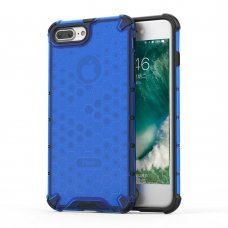 "APSAUGINIS TPU DĖKLAS ""HONEYCOMB CASE"" IPHONE 8 PLUS / IPHONE 7 PLUS MĖLYNAS HG99"