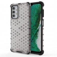 Plastikinis dėklas Honeycomb Case  Samsung Galaxy A32 5G Skaidrus