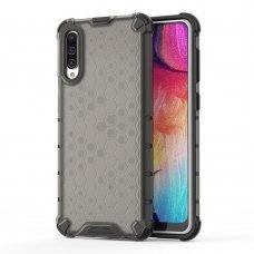 """Apsauginis Tpu Dėklas """"Honeycomb Case"""" Samsung Galaxy A50 Juodas"""