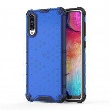 """Apsauginis Tpu Dėklas """"Honeycomb Case"""" Samsung Galaxy A50 Mėlynas"""