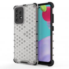 Dėklas Honeycomb Case armor cover with TPU Samsung Galaxy A52/ A52s Permatomas
