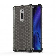 """Apsauginis Tpu Dėklas """"Honeycomb Case"""" Xiaomi Mi 9T / Xiaomi Mi 9T Pro Juodas"""
