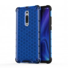 "Apsauginis Tpu Dėklas ""Honeycomb Case"" Xiaomi Mi 9T / Xiaomi Mi 9T Pro Mėlynas"