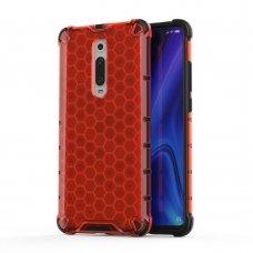 "Apsauginis Tpu Dėklas ""Honeycomb Case"" Xiaomi Mi 9T / Xiaomi Mi 9T Pro Raudonas"