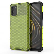Dėklas Honeycomb  TPU  Xiaomi Poco M3 / Xiaomi Redmi 9T Žalias