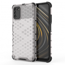 Dėklas Honeycomb Case TPU Xiaomi Poco M3 / Xiaomi Redmi 9T Skaidrus