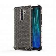 """Plastikinis apsauginis dėklas """"Honeycomb armor"""" Xiaomi redmi Note 8 Pro juodas (jof59) UCS134"""