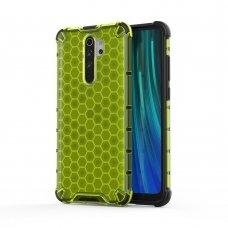"""Plastikinis apsauginis dėklas """"Honeycomb armor"""" Xiaomi redmi Note 8 Pro žalias (jof59) UCS134"""