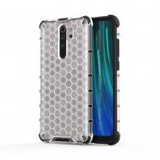 """Plastikinis apsauginis dėklas """"Honeycomb armor"""" Xiaomi redmi Note 8 Pro permatomas (jof59) UCS134"""