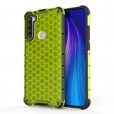 """Plastikinis Apsauginis Dėklas """"Honeycomb Armor"""" Xiaomi Redmi Note 8T Žalias"""