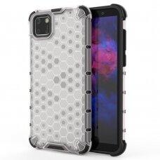 Honeycomb Case Dėklas Sutvirtintais Tpu Kraštais Huawei Y5P Skaidrus