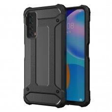 Dėklas Hybrid Armor Case Huawei P Smart 2021 juodas