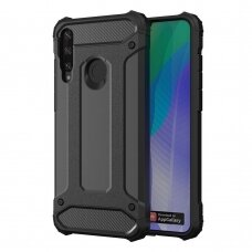 Hybrid Armor Case Tough Rugged Cover for Huawei Y6p black
