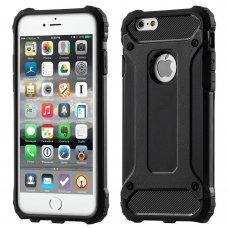 """Tvirtas Apsauginis Dėklas Iš Tpu Ir Pc Plastiko """"Hybrid Armor Rugged"""" Iphone 11 Pro (2019) Juodas"""