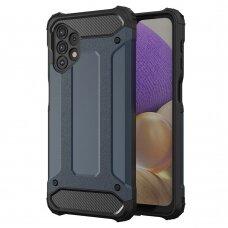 Apsauginis dėklas Hybrid Armor Case Samsung Galaxy A32 4G Tamsiai mėlynas