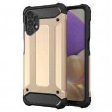 Apsauginis dėklas Hybrid Armor Case  Samsung Galaxy A32 4G Auksinis