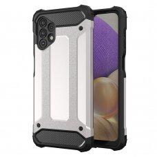 Apsauginis dėklas Hybrid Armor Case Samsung Galaxy A32 4G Sidabrinis